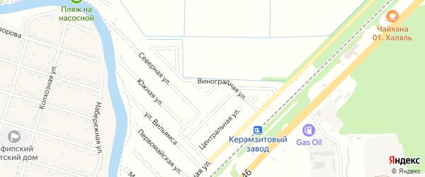 Грушовая улица на карте Строителя с номерами домов