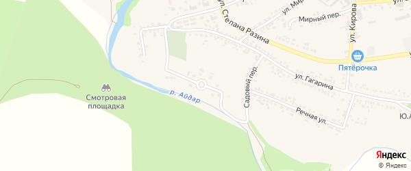 Улица Лекарский сад на карте поселка Ровенек с номерами домов
