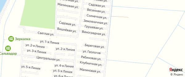 Абрикосовая улица на карте Имени Хуаде Адыгеи с номерами домов