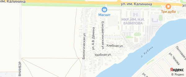 5-я улица на карте Здоровья Адыгеи с номерами домов