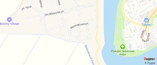 Улица Андрухаева на карте аула Старобжегокай Адыгеи с номерами домов