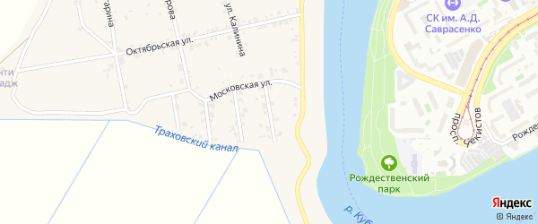 Молодежная улица на карте аула Старобжегокай Адыгеи с номерами домов