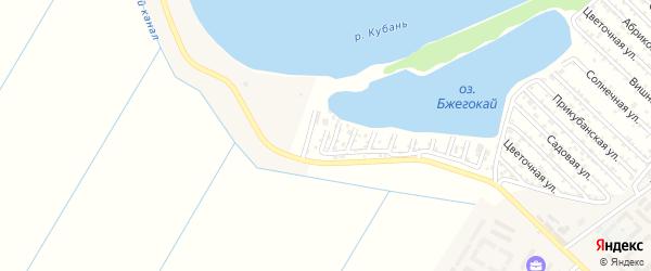 Смородиновая улица на карте Дружбы Адыгеи с номерами домов
