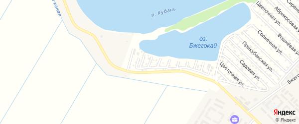 Сливовая улица на карте Кубани Адыгеи с номерами домов