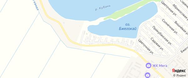 Сливовая улица на карте Здоровья Адыгеи с номерами домов