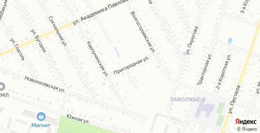 Сигнальная/Пригородная улица в Рыбинске с номерами домов на карте. Спутник и схема онлайн