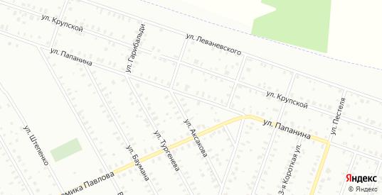 Улица Менжинского/Папанина в Рыбинске с номерами домов на карте. Спутник и схема онлайн