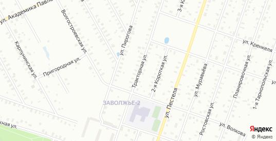 Папанина/Тракторная улица в Рыбинске с номерами домов на карте. Спутник и схема онлайн