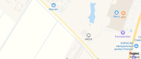 Дорога А/Д Яблоновский-Старобжегокай на карте Яблоновского поселка Адыгеи с номерами домов