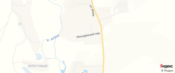 Карта хутора Старой Райгородки в Белгородской области с улицами и номерами домов