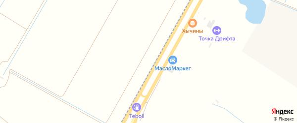 Ореховая улица на карте садового некоммерческого товарищества Яблоньки Адыгеи с номерами домов