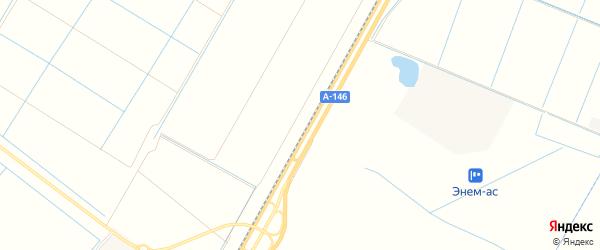 Карта садового некоммерческого товарищества Яблоньки в Адыгее с улицами и номерами домов