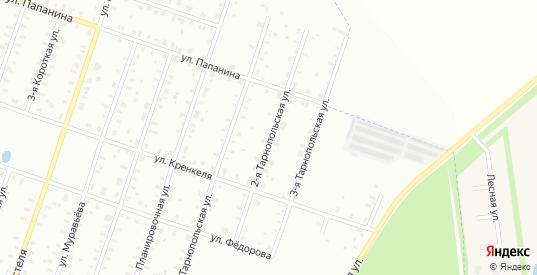 2-я Тарнопольская улица в Рыбинске с номерами домов на карте. Спутник и схема онлайн