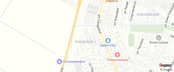 Улица Кобцевой Н.С. на карте Яблоновского поселка с номерами домов