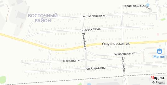 Белинского/Линейная улица в Рыбинске с номерами домов на карте. Спутник и схема онлайн
