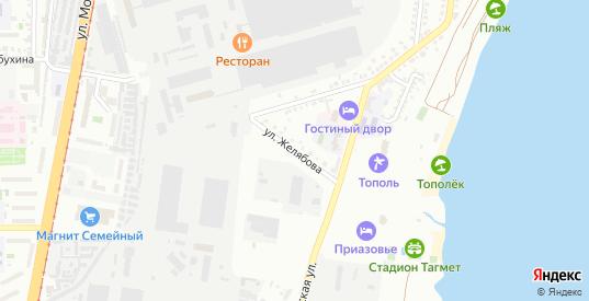 Улица Желябова в Таганроге с номерами домов на карте. Спутник и схема онлайн