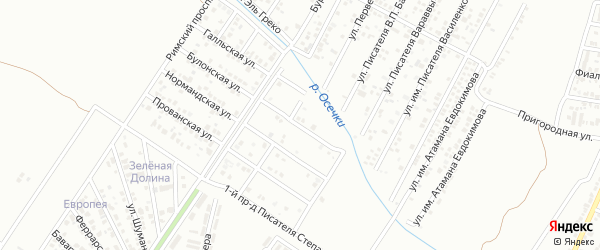 Им Писателя Степанова 4-й проезд на карте Краснодара с номерами домов