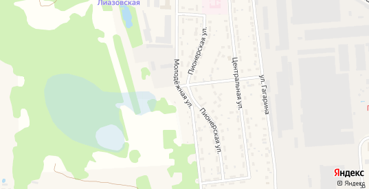 Молодежная улица в Ликино-Дулево с номерами домов на карте. Спутник и схема онлайн