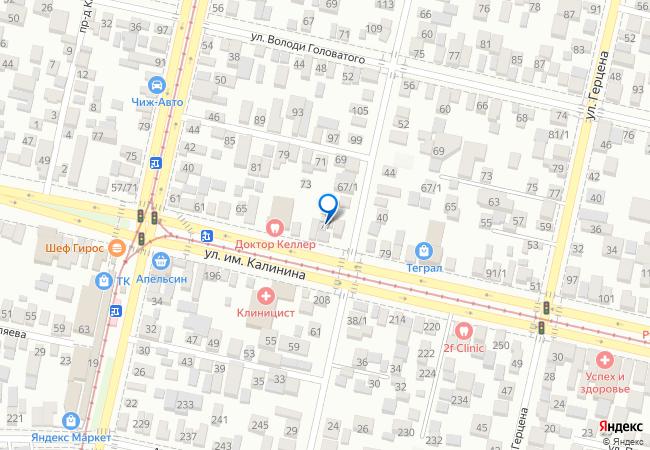 улица Калинина, 77/5 на карте Красноярска, организации, фото подробно | 450x650