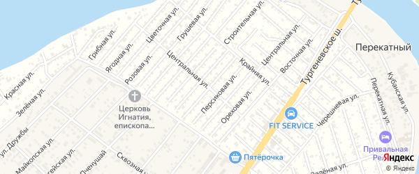 Черешневая улица на карте Мелиоратора Адыгеи с номерами домов