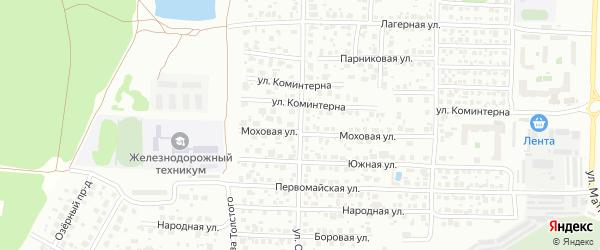 Улица Островского на карте Орехово-Зуево с номерами домов