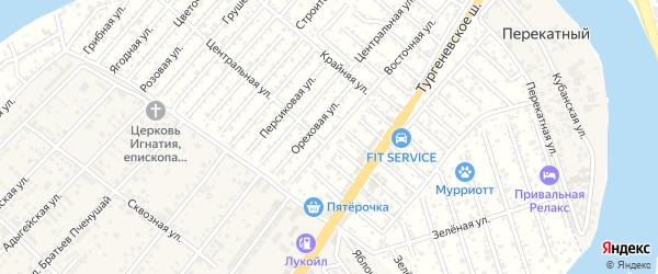 Алычевая улица на карте Мелиоратора Адыгеи с номерами домов