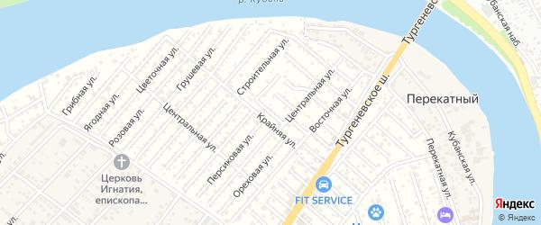 Улица 5 Линия на карте Закубанские садов Адыгеи с номерами домов