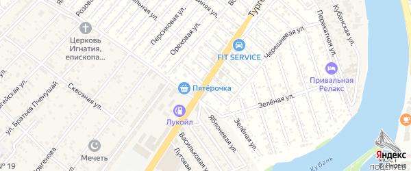 Смородиновая улица на карте Кубани Адыгеи с номерами домов