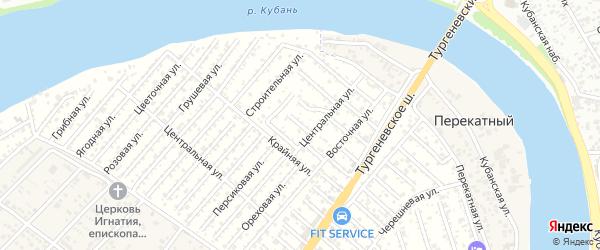 Улица 4 Линия на карте Закубанские садов Адыгеи с номерами домов