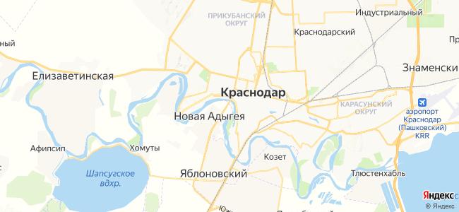 Перекатный на карте