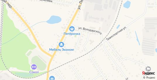 Улица Карла Маркса в Ликино-Дулево с номерами домов на карте. Спутник и схема онлайн