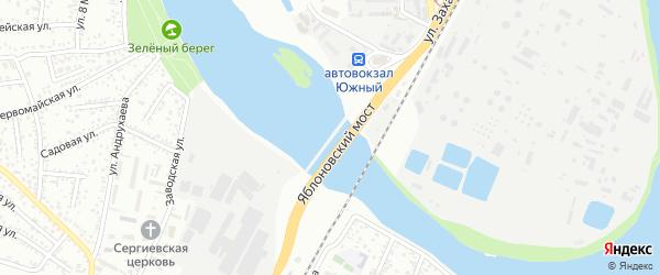 Дорога А/Д Тахтамукай-Козет-Новый-Яблоновский на карте Яблоновского поселка Адыгеи с номерами домов