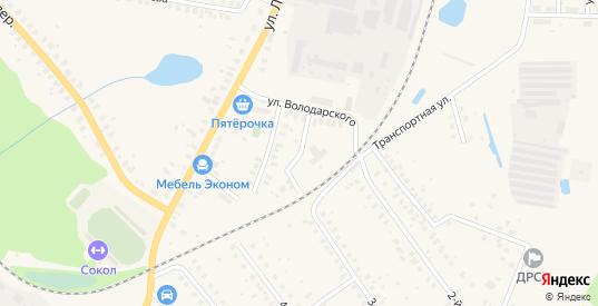 Железнодорожная улица в Ликино-Дулево с номерами домов на карте. Спутник и схема онлайн