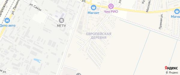 Олимпийская улица на карте аула Тахтамукая Адыгеи с номерами домов