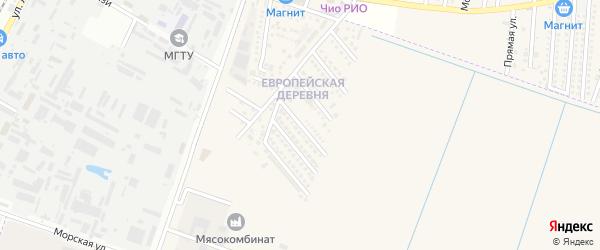 Анапская улица на карте аула Тахтамукая Адыгеи с номерами домов