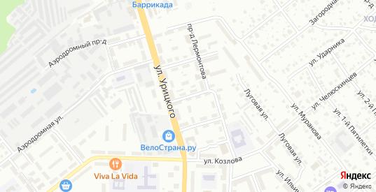 Луговой 1-й проезд в Орехово-Зуево с номерами домов на карте. Спутник и схема онлайн