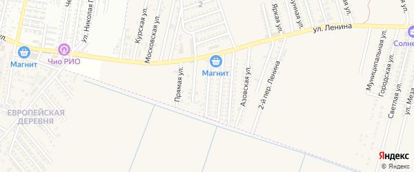 Адмиралтейская улица на карте аула Козет Адыгеи с номерами домов