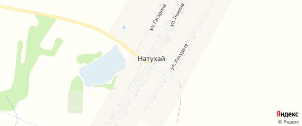 Анапская улица на карте аула Натухая Адыгеи с номерами домов