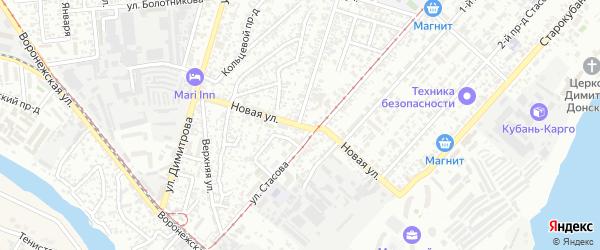 Новая улица на карте Краснодара с номерами домов