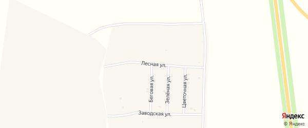 Лесная улица на карте Острогожска с номерами домов