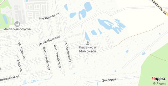 Проезд Радугина в Егорьевске с номерами домов на карте. Спутник и схема онлайн