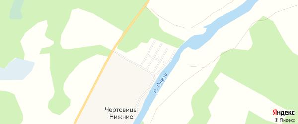 Карта поселка СОТА Дорожника в Архангельской области с улицами и номерами домов
