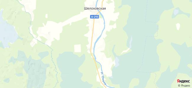 Полутинская на карте