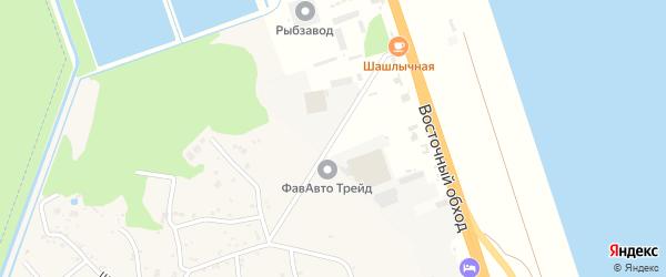 Промышленная улица на карте Тугургоя аула Адыгеи с номерами домов