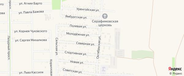 Грушевая улица на карте садового некоммерческого товарищества НСТ Зари с номерами домов