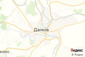 Карта г. Данков Липецкая область