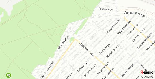 Карта поселка СНТ Железнодорожник-2 в Воронеже с улицами, домами и почтовыми отделениями со спутника онлайн