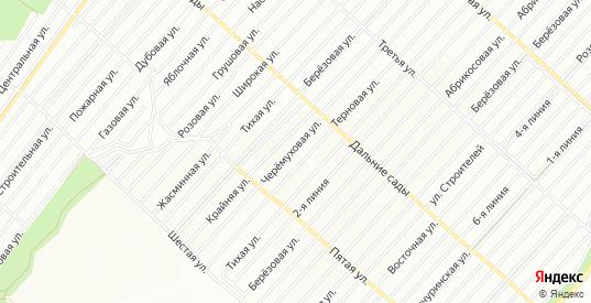 Карта поселка СНТ Садовод-Любитель в Воронеже с улицами, домами и почтовыми отделениями со спутника онлайн