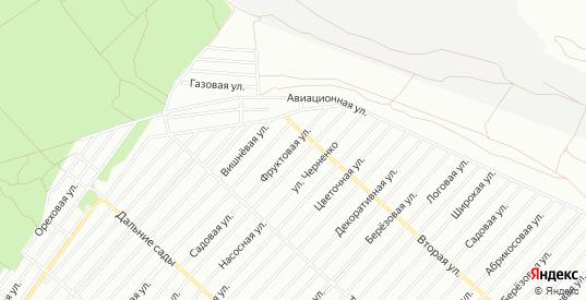 Карта поселка СНТ Садовод в Воронеже с улицами, домами и почтовыми отделениями со спутника онлайн