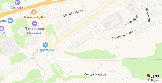 Улица Малая Поляна в Покрове с номерами домов на карте. Спутник и схема онлайн